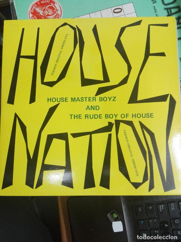 HOUSE MASTER BOYZ* AND THE RUDE BOY OF HOUSE – HOUSE NATION , 1987. COMO NUEVO (Música - Discos de Vinilo - Maxi Singles - Disco y Dance)