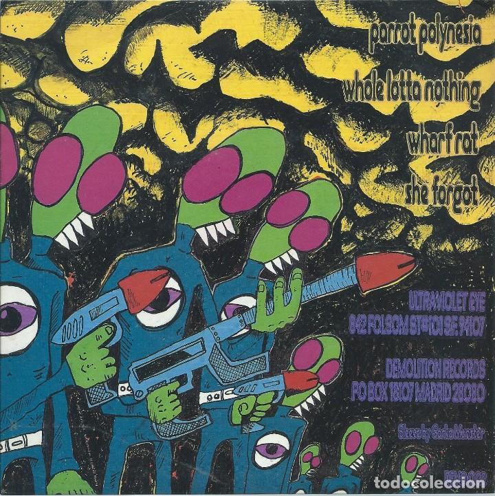 Discos de vinilo: ULTRA VIOLET EYE, PARROT POLINESIA. -EP DEMOLITION 1991- - Foto 2 - 168297164