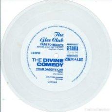 Discos de vinilo: THE DIVINE COMEY-THE GLEE CLUB. -FLEXI SETANTA 1993-. Lote 168299992