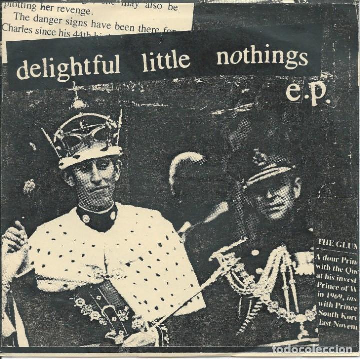 DELIGHTFUL LITTLE NOTHING, OVER US. -EP CANDY FLOSS 1993- (Música - Discos - Singles Vinilo - Pop - Rock Internacional de los 90 a la actualidad)