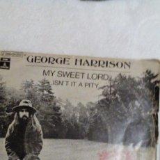 Discos de vinilo: AR,DISCO VINILO ,FUNDA VIEJAGEORGE HARRISON, MY SWEET LORD. ISN'T IT A PITY. Lote 168310332