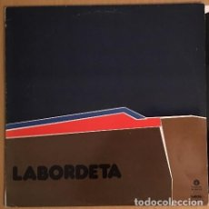 Discos de vinilo: LABORDETA – TIEMPO DE ESPERA - LP FONOMUSIC SPAIN 1986. Lote 168313312