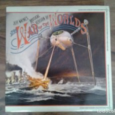 Discos de vinilo: JEFF WAYNE -THE WAR OF THE WORLDS-DOBLE LP CBS RECORDS 1978 ED. ORIGINAL INGLESA CBS 96000 GATEFOLD.. Lote 168333020