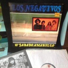 Discos de vinilo: LOS NEGATIVOS ( 18º SABADO AMARILLO) LP ESPAÑA 1987 . Lote 168336240