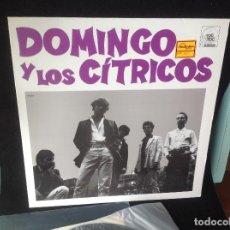 Discos de vinilo: DOMINGO Y LOS CÍTRICOS - S/T - MINI LP - LABEL: TOC TOC - 1987 - POP ROCK. Lote 168336668