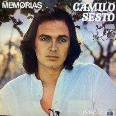 Vinyl-Schallplatten - CAMILO SESTO - MEMORIAS - LP ARIOLA SPAIN 1976 - PORTADA DOBLE - 168355444