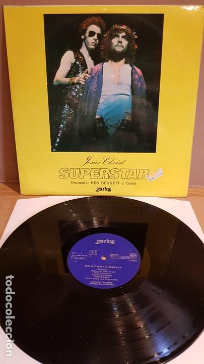 ORQUESTA BEN BENNETT Y COROS / JESÚS CHRIST SUPERSTAR / OPERA-ROCK / LP-ZARTOS-1975 / MBC. ***/*** (Música - Discos - LP Vinilo - Rock & Roll)