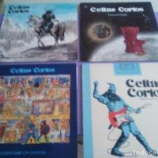 Discos de vinilo: LOTE 4 LPS CELTAS CORTOS.CUENTAME UN CUENTO/ROCK CELTA/GENTE IMPRESENTABLE/TRANQUILO MAJETE.. Lote 168375160