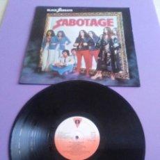 Discos de vinilo: GENIAL LP. BLACK SABBATH - SABOTAGE. AÑO 1984, SPAIN. SELLO VICTORIA C 30.471.. Lote 168387556