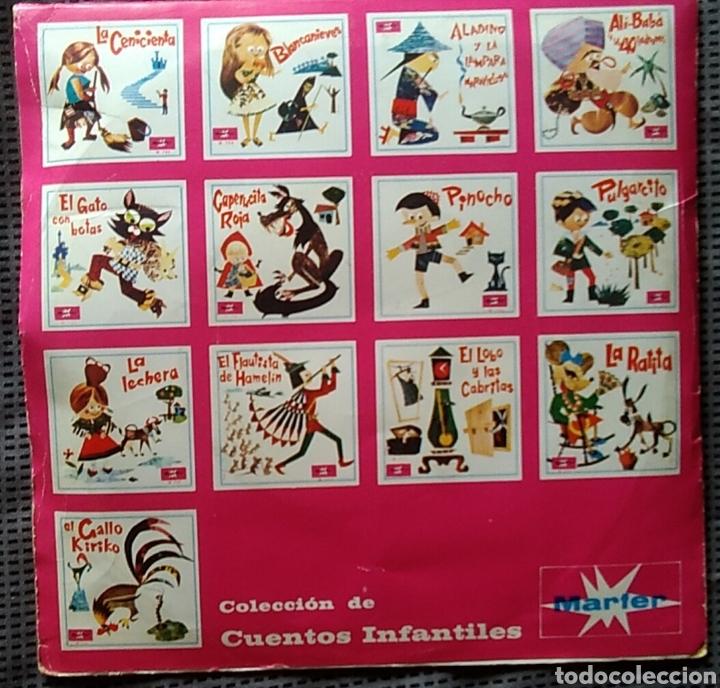Discos de vinilo: Single vinilo aladino y la lámpara maravillosa cuentos infantiles 45 rpm año 1967 - Foto 3 - 168395701