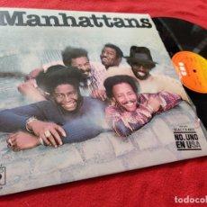 Discos de vinilo: THE MANHATTANS LP 1976 CBS SPAIN ESPAÑA. Lote 168398796