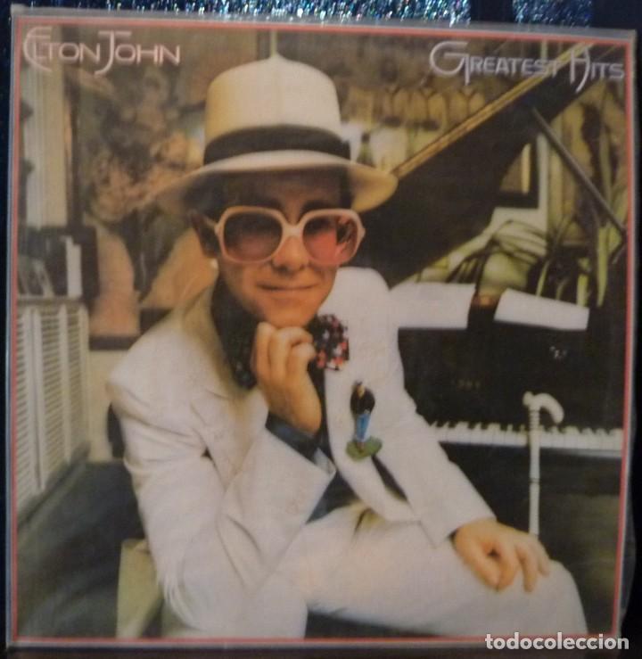 ELTON JOHN // GREATEST HITS // 1986 // (VG+ VG+) LP (Música - Discos - LP Vinilo - Pop - Rock - Extranjero de los 70)