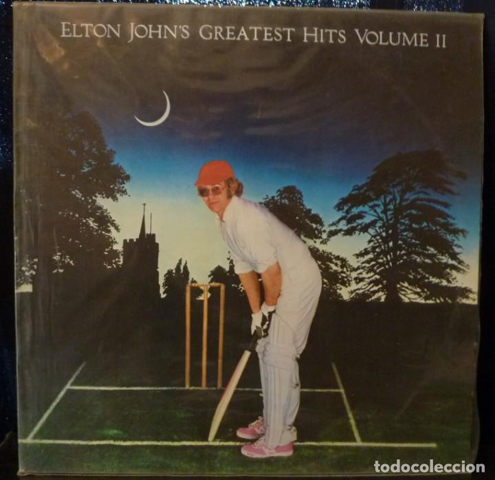 ELTON JOHN // GREATEST HITS VOL. II // 1986 // (VG+ VG+). LP (Música - Discos - LP Vinilo - Pop - Rock - Extranjero de los 70)