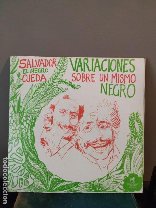 SALVADOR EL NEGRO OJEDA - VARIACIONES SOBRE UN MISMO NEGRO (Música - Discos de Vinilo - EPs - Cantautores Extranjeros)