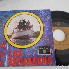 Discos de vinilo: LOS BUCANEROS-EP VEN PA´CA +3. Lote 168426136