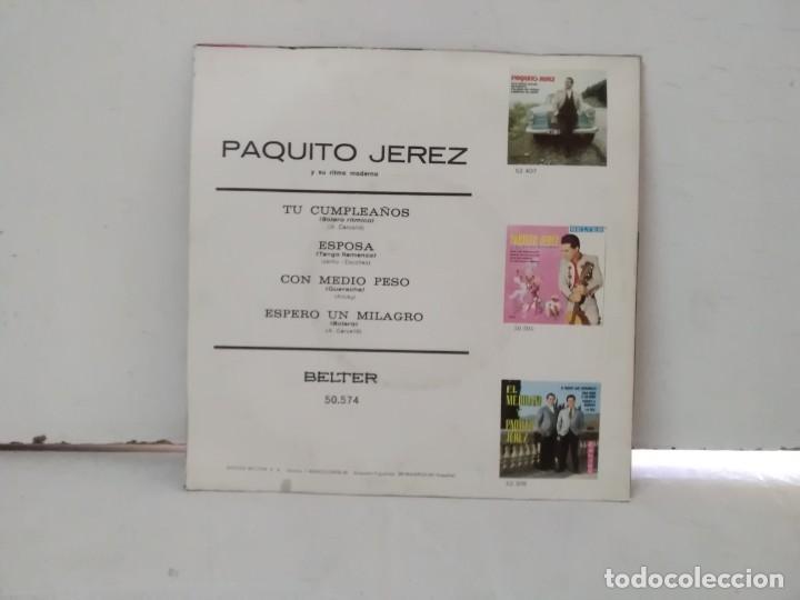 Discos de vinilo: Paquito jerez - Foto 2 - 168426308
