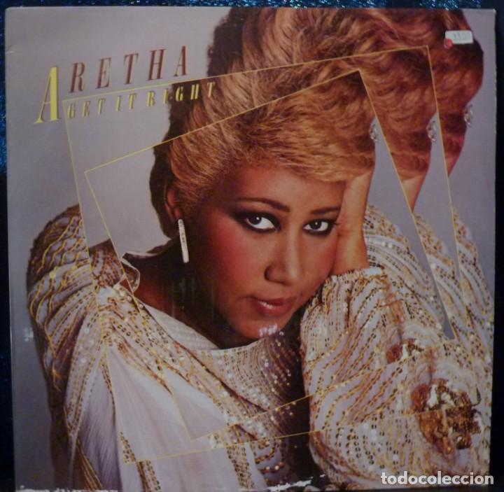 ARETHA FRANKLIN // GET IT RIGHT// 1983 // ENCARTE//(VG+VG+).MADE IN HOLLAND.LP (Música - Discos de Vinilo - EPs - Funk, Soul y Black Music)