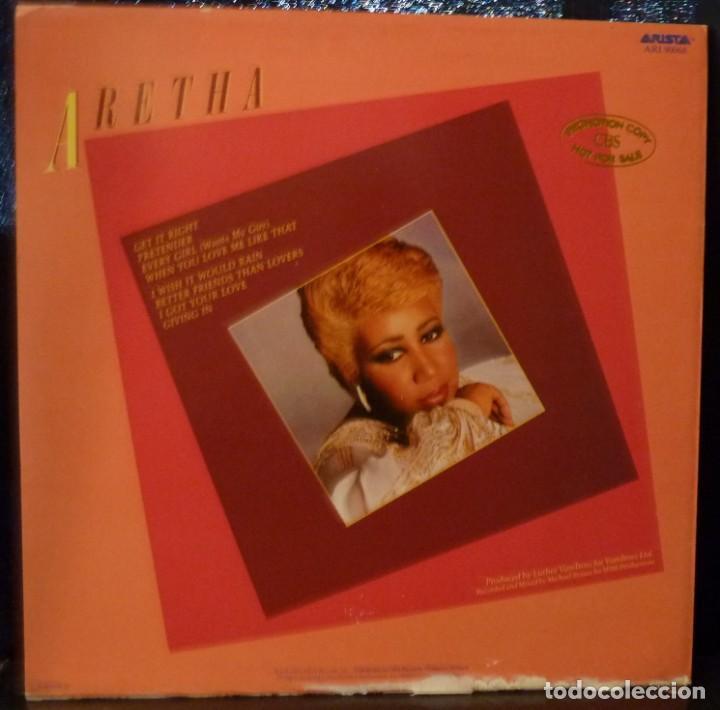 Discos de vinilo: ARETHA FRANKLIN // GET IT RIGHT// 1983 // ENCARTE//(VG+VG+).MADE IN HOLLAND.LP - Foto 2 - 168427384