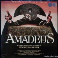 Discos de vinilo: AMADEUS //BSO //DISCO Y PORTADA DOBLE//MADE IN USA// (VG+VG+). LP. Lote 168428684