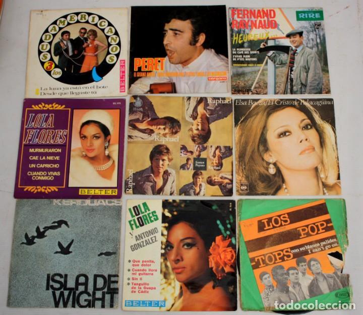 Discos de vinilo: IMPORTANTE LOTE CON 260 EPS DE DIFERENTES TEMATICAS PROCEDENTES DE UNA CASA PARTICULAR - Foto 2 - 168429144