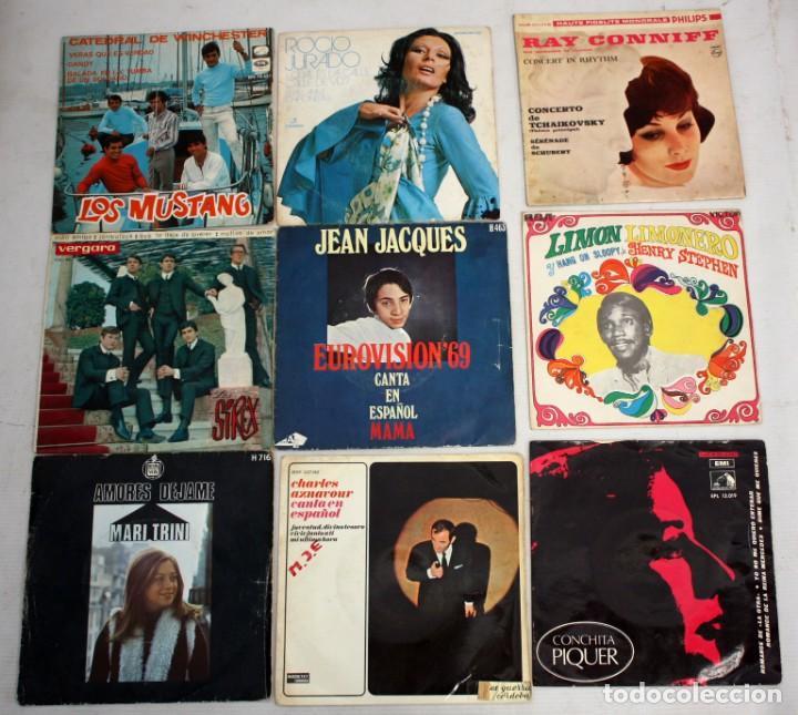Discos de vinilo: IMPORTANTE LOTE CON 260 EPS DE DIFERENTES TEMATICAS PROCEDENTES DE UNA CASA PARTICULAR - Foto 3 - 168429144