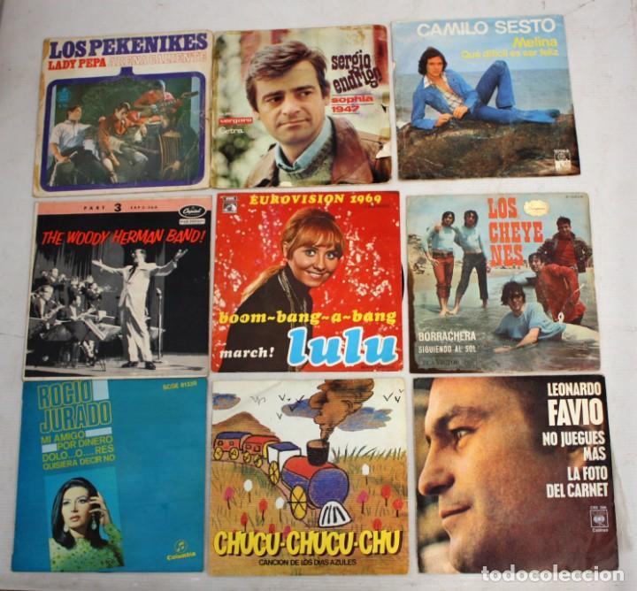 Discos de vinilo: IMPORTANTE LOTE CON 260 EPS DE DIFERENTES TEMATICAS PROCEDENTES DE UNA CASA PARTICULAR - Foto 4 - 168429144
