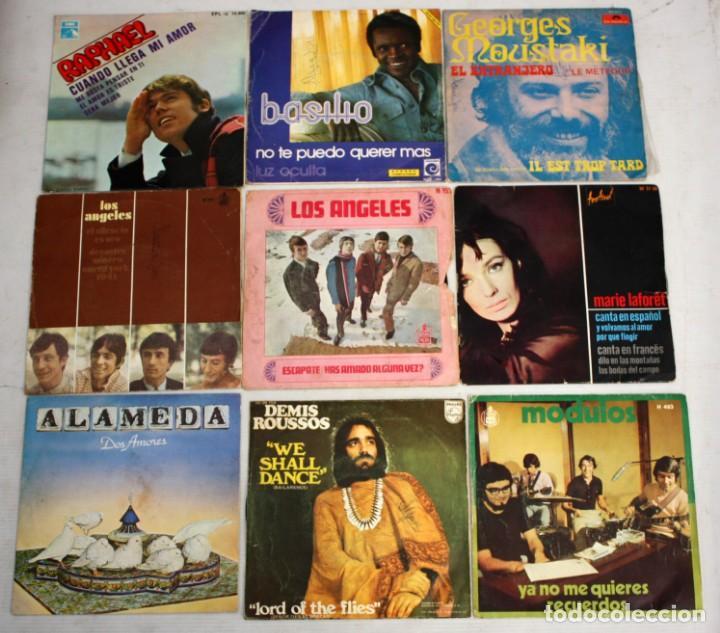 Discos de vinilo: IMPORTANTE LOTE CON 260 EPS DE DIFERENTES TEMATICAS PROCEDENTES DE UNA CASA PARTICULAR - Foto 5 - 168429144