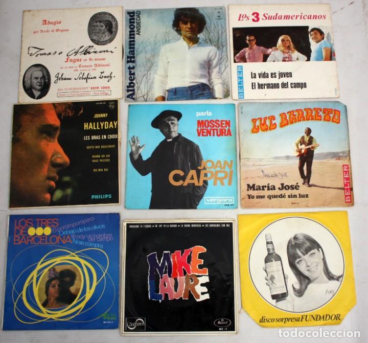 Discos de vinilo: IMPORTANTE LOTE CON 260 EPS DE DIFERENTES TEMATICAS PROCEDENTES DE UNA CASA PARTICULAR - Foto 8 - 168429144