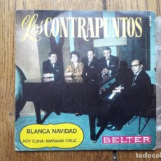 Discos de vinilo: LOS CONTRAPUNTOS - KONTRAPUNTOAK - EGUBERRI ZURIA + ORAIN SEASKA, GERO GURUTZA. Lote 168429280