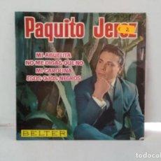 Discos de vinilo: PAQUITO JEREZ . Lote 168430028