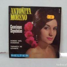 Discos de vinilo: ANTOÑITA MORENO . Lote 168430128