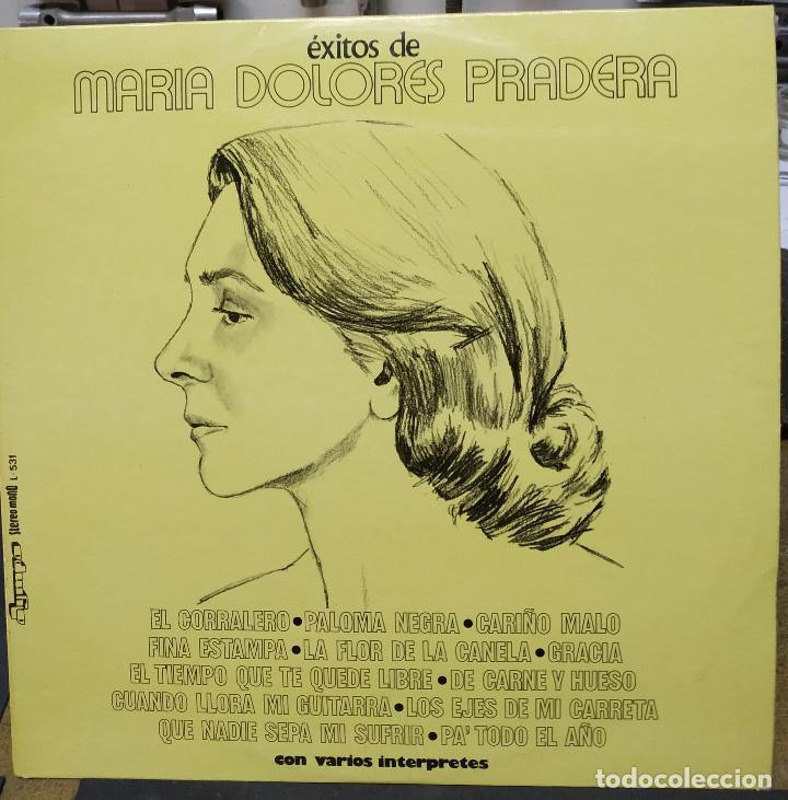 MARIA DOLORES PRADERA- EXITOS DE (Música - Discos de Vinilo - Maxi Singles - Grupos y Solistas de latinoamérica)