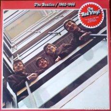 Discos de vinilo: THE BEATLES 1962-1966 APPLE RED VINYLS 2 LP GATEFOLD. Lote 168453764