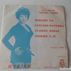 Discos de vinilo: ORQUESTA FANTASIA Y NARBO. POR COMPASION + 3. EP. PROMOCIONAL. BCD 1971.. Lote 168456980