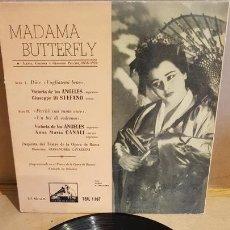Discos de vinilo: MADAMA BUTTERFLY / VARIOS ARTISTAS / EP - LA VOZ DE SU AMO / MBC. ***/***. Lote 168459832