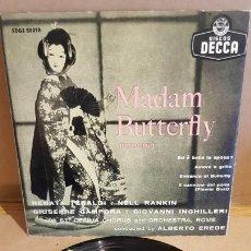 Discos de vinilo: MADAM BUTTERFLY / VARIOS ARTISTAS / EP - DECCA-AÑOS '50 / MBC. ***/***. Lote 168460028