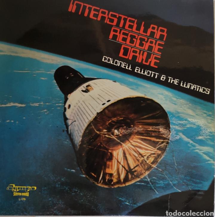COLONEL ELLIOT & THE LUNATICS - INTERSTELLAR REGGAE DRIVE - VINILO LP (Música - Discos - LP Vinilo - Electrónica, Avantgarde y Experimental)