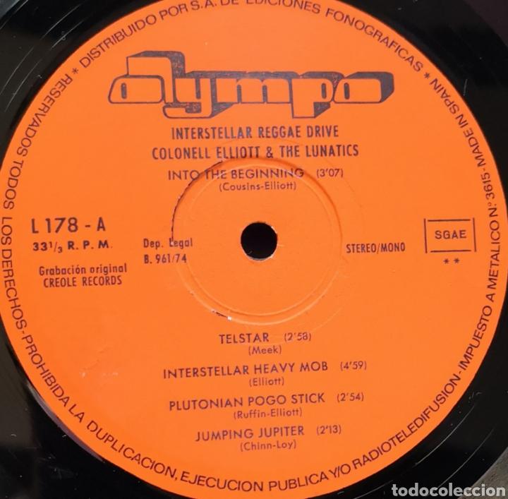 Discos de vinilo: COLONEL ELLIOT & THE LUNATICS - INTERSTELLAR REGGAE DRIVE - VINILO LP - Foto 2 - 168461422