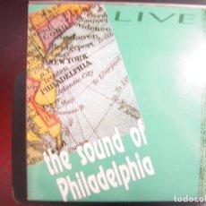 Discos de vinilo: THE SOUND OF PHILADELPHIA- LIVE. DOBLE LP.. Lote 168463276