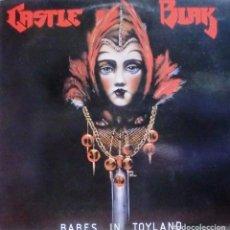 Discos de vinilo: CASTLE BLAK - BABES IN TOYLAND LP FRANCE + INSERT . Lote 168466024