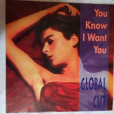 Discos de vinilo: DISCO GLOBAL CUT. Lote 168466440