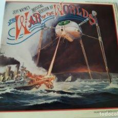 Discos de vinilo: LA GUERRA DE LOS MUNDOS- SPAIN 2 LP 1978 (SIN TEXTO IDIOMA PORTADA) + LIBRETO-VINILOS COMO NUEVO.. Lote 168468916