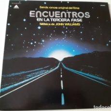 Discos de vinilo: ENCUENTROS EN LA TERCERA FASE- BANDA SONORA- SPAIN PROMO LP 1978- VINILO COMO NUEVO.. Lote 168471096