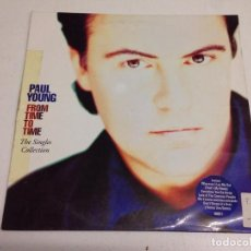 Discos de vinilo: PAUL YOUNG ‎– FROM TIME TO TIME (THE SINGLES COLLECTION) . Lote 168473452
