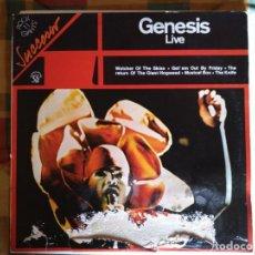 Discos de vinilo: GENESIS.LIVE.LP.RAREZA.. Lote 168485640