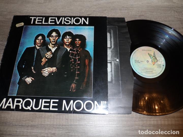 TELEVISION - MARQUEE MOON (1977) (Música - Discos - LP Vinilo - Punk - Hard Core)