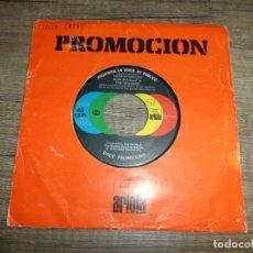 Discos de vinilo: BOB MARLEY & THE WAILERS - DEMASIADOS PROBLEMAS EN EL MUNDO (PROMOCIONAL). Lote 168486316