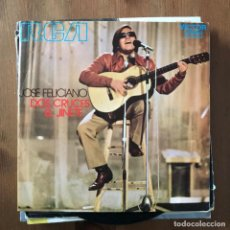 Discos de vinilo: JOSÉ FELICIANO - DOS CRUCES - SINGLE RCA 1971 . Lote 168486552