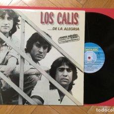 Discos de vinilo: LOS CALIS (DE LA ALEGRÍA) FOTOMUSIC, 1986 ¡LP ORIGINAL! ¡COLECCIONISTA!. Lote 168516492