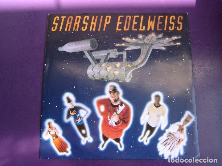 EDELWEISS SG WEA 1992 - STARSHIP EDELWEISS +1 ELECTRONICA DISCO - EURO HOUSE - SIN USO (Música - Discos - Singles Vinilo - Disco y Dance)